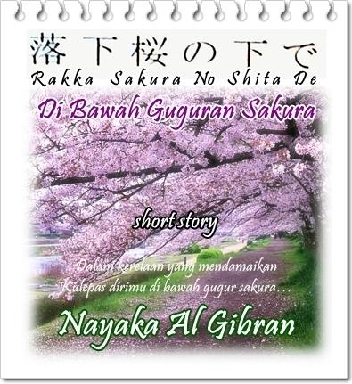 Di Bawah Guguran Sakura - Cover