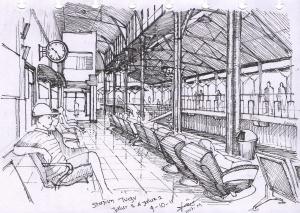 Stasiun Tugu Jalur3