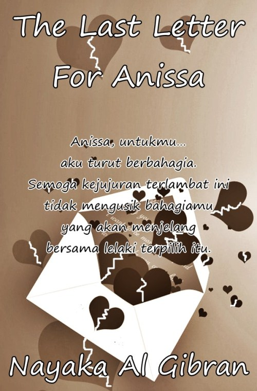 The Last Letter for ANISSA cover
